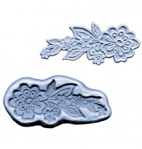 Silicone Mold Lace Flowers