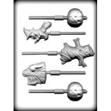 Halloween Assortement Sucker Molds