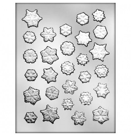 Snowflakes Assortment Mold (Hard Candy)