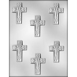Cross/ Lily Chocolate Mold