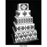 5 tier Lace Cake Stencil Set (7 pieces)