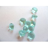 Edible Sugar Diamonds Aqua (0.6 cm)