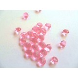 Edible Sugar Diamonds Soft Pink (0.6cm)
