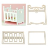 FMM Baby Cot or Crib Cutter Set of 3