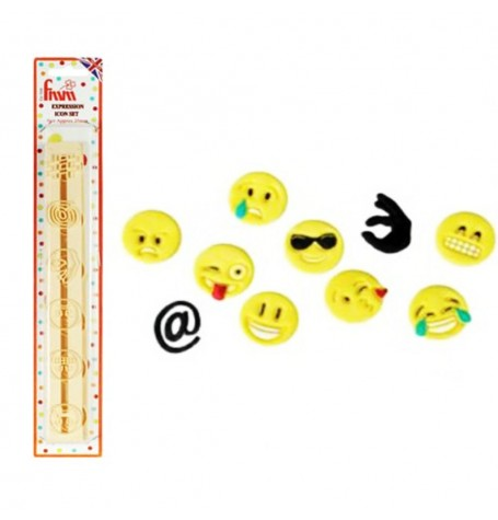 FMM Expressions Icons Cutter Tappit (Emoji)