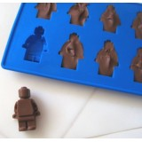 Lego Men Chocolat and Ice Mold