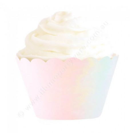 Iridescent Foil Cupcake Wrappers (12)