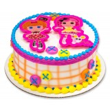 Lalaloopsy Cookie Cutter - Cake Topper