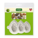 Chef Nicholas Lodge Collection - Pine Cones Silicone Mold