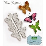 Butterfly Trio Silicone Mold
