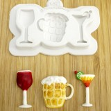 Party Drinks Silicone Mold