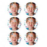 "Lucks Edible Image Print-Ons Sheets 3"" Rounds"
