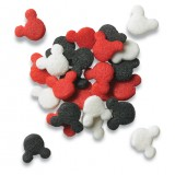 Mickey Mouse Sprinkles (Red, Black, White)