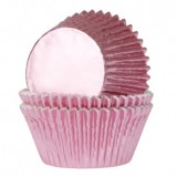 Foil Bake Cups Light Pink (Quantity 32)