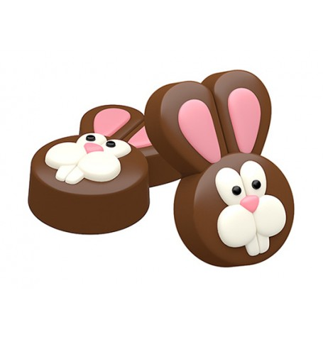 Easter Bunny Sandwich Cookie Mold (Oreo)