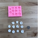 Assorted Mini Flowers Silicone Mold