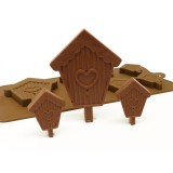 Silicone Moulds for 6+1 Bird House Chocolate Collection