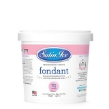 Satin Ice Rolled Fondant Baby Pink/Vanilla 1 Kg