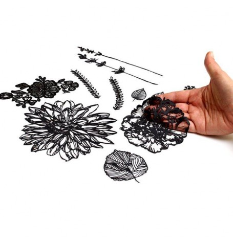 Silho Cake Mat - Hand Drawn Florals