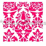 Lovely Damask Stencil