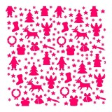 Christmas Wrapping Paper Stencil