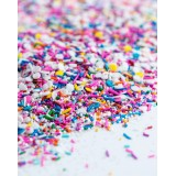 BIRTHDAY PARTY Sprinkle Medley from Sweetapolita 4oz Bottle (1/2 cup/NET WT 3.5oz/100g)  Gluten-Free & Vegan