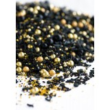 BLACK MAGIC Twinkle Sprinkle Medley from Sweetapolita 4oz Bottle (1/2 cup/NET WT 3.5oz/100g)