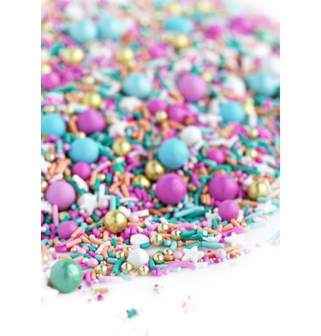 POOLSIDE Twinkle Sprinkle Medley from Sweetapolita 4oz Bottle (1/2 cup/NET WT 3.5oz/100g)