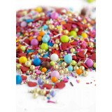CAKE ME I'M YOURS Twinkle Sprinkle Medley from Sweetapolita 4oz Bottle (1/2 cup/NET WT 3.5oz/100g)