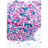 COSMIC CRUSH Twinkle Sprinkle Medley from Sweetapolita 4oz Bottle (1/2 cup/NET WT 3.5oz/100g)