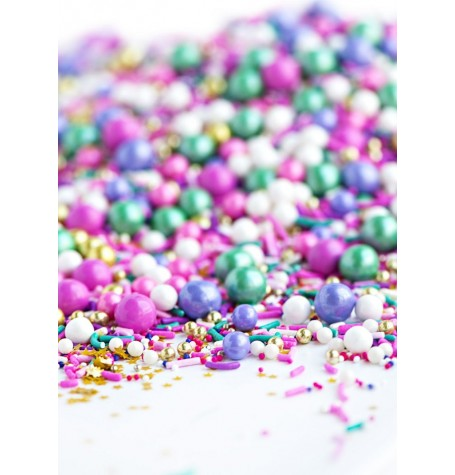 ALL DOLLED UP Twinkle Sprinkle Medley from Sweetapolita 4oz Bottle (1/2 cup/NET WT 3.5oz/100g)
