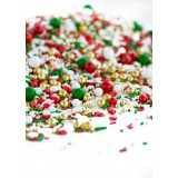 JOLLY HOLIDAY Twinkle Sprinkle Medley from Sweetapolita 4oz Bottle (1/2 cup/NET WT 3.5oz/100g)