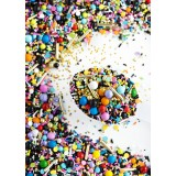 LADIES OF THE EIGHTIES Twinkle Sprinkle Medley from Sweetapolita 4oz Bottle (1/2 cup/NET WT 3.5oz/100g)