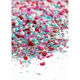 LOVE AFFAIR Twinkle Sprinkle Medley from Sweetapolita 4oz Bottle (1/2 cup/NET WT 3.5oz/100g)