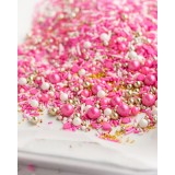 FLAMINGO Twinkle Sprinkle Medley from Sweetapolita 4oz Bottle (1/2 cup/NET WT 3.5oz/100g)