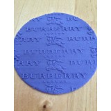Fondant Impression Rolling Pin Burberry Texture Small