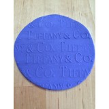 Fondant Impression Rolling Pin Tiffany & Co Texture Small