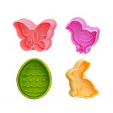 Easter Plunger Cutters Set of 4