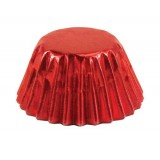 Foil Candy Cups Red (60)