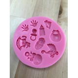 Baby items Silicone Mold (hands)