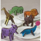 3D Zoo Animals Cookie Cutters