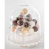 Cake Pop Stand with Dome Cover
