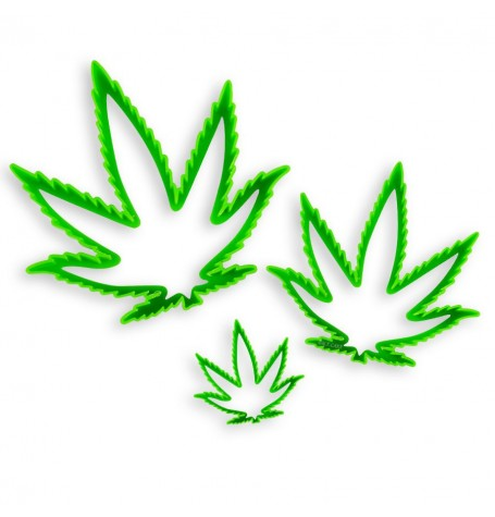 Marijuana Cannabis Leaf Cutter (3 sizes)