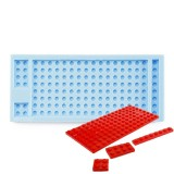 Flat Building Blocks Silicone Mold
