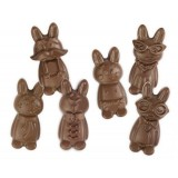 Easter Funny Rabbits Silicone Mold