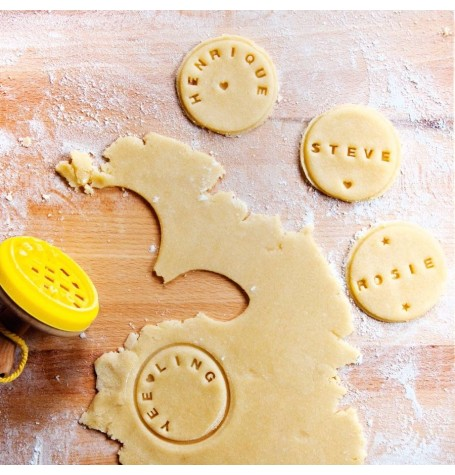 Customisable Cookie Stamper - Create Your Own Messages