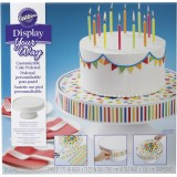 Display Your Way™ Customizable Cake Pedestal
