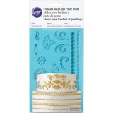 Damask Fondant and Gum Paste Mold Wilton