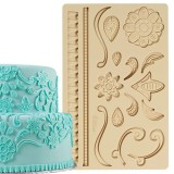 Lace Fondant and Gum Paste Mold
