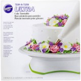 Trim 'n Turn® ULTRA Cake Turntable Rotating Cake Stand
